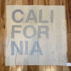 NWT Levi's 2008 California Block Letter Scarf